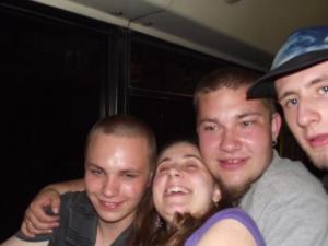 Emi z 1-y z lewej  , 18-kolegi ,z przyjaciółmi , 03.05.2012