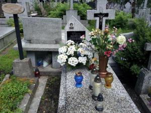 Grob Danielka w Hajnowce.