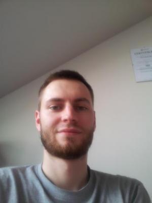 ostatnie zdjęcie, przed egzaminem się nie golił