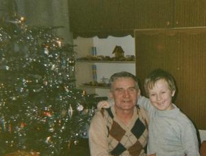dziadek z wnusiem