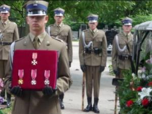 Odznaczenia  płk Stanisławy Adamowicz