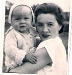 Z bratankiem - 1953 r.