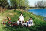 Aldonka z dziećmi Czersk 2002