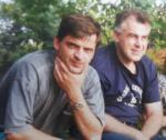 KWIDZYŃ 1995 z kolegą z AON