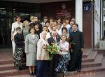 Zakończenie pierwszego roku pracy ks.Grzegorza w Liceum Ogólnokształcącym w Brwinowie